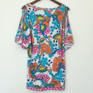 Trina Turk Flower Printed Swim Cover Up
